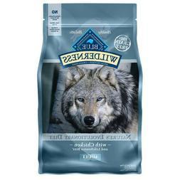 Blue Buffalo Wilderness Chicken Dog Food 4.5lb