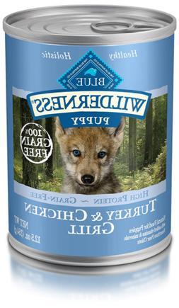 Blue Buffalo Wilderness High Protein Grain Free, Natural Pup