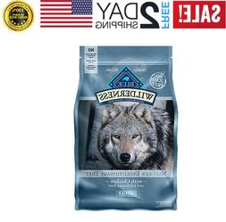 BLUE Wilderness Adult Dog Food - Grain Free, Natural, Chicke