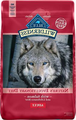 blue wilderness adult salmon recipe dry dog