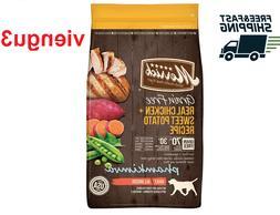 Brand New 25lb Merrick Grain-Free Real Chicken+ Sweet Potato