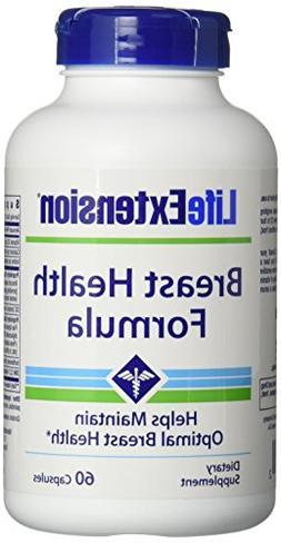Life Extension Breast Health Formula Vegetarian Capsules, 60