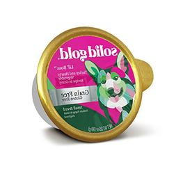 Solid Gold Small Breed Wet Dog Food; Lil' Boss Grain-Free wi