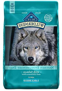 Blue Buffalo Large Breed Wilderness Salmon Adult Dry Dog Foo
