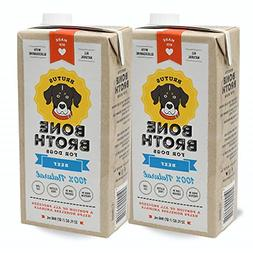 Brutus Bone Broth for Dogs | Beef 2-Pack | Glucosamine & Cho