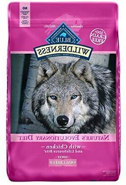 Blue Buffalo Wilderness High Protein Grain Free, Natural Adu