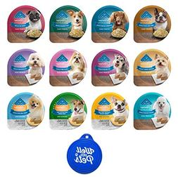 Blue Buffalo Divine Delights Dog Food Tubs Variety Pack, 12
