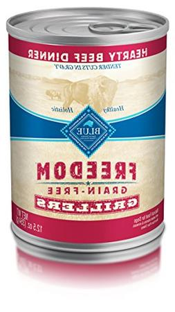 Blue Buffalo Freedom Grain Free Grillers Beef 12.5 oz, Pack