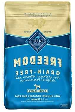 Blue Buffalo Freedom Grain Free Natural Adult Dry Dog Food,