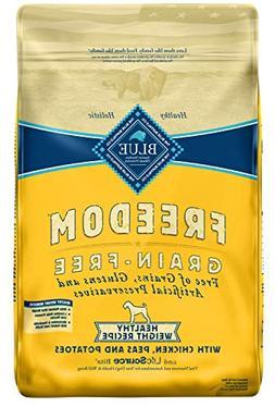 Blue Buffalo Freedom Grain Free Recipe for Dog, Healthy Weig