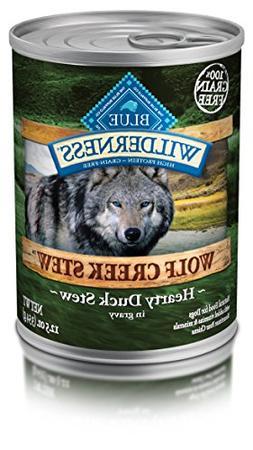 Blue Buffalo Wilderness Wolf Creek Stews Duck - Grain Free 1