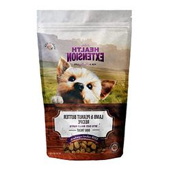 Health Extension Bully Puffs Dog Treat, Lamb and Peanut Butt