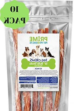 Bully Stick Dog Treats -  Odorless Premium Grade - No Odor S