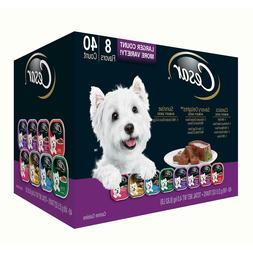 Cesar Canine Cuisine Wet Dog Food, Variety Pack 3.5 oz., 40