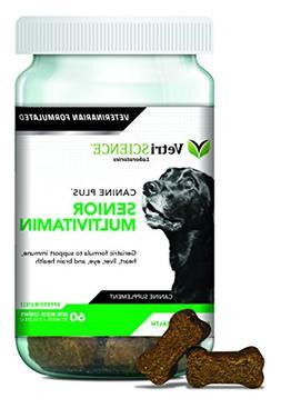 VetriScience Laboratories Canine Plus Senior, Multivitamin f