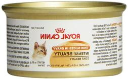 Royal Canin Canned Cat Food, Intense Beauty, Thin Slices In