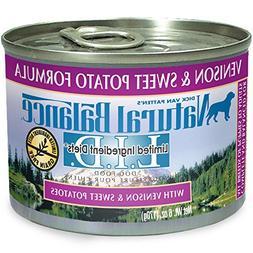 Natural Balance L.I.D. Limited Ingredient Diets Canned Wet D