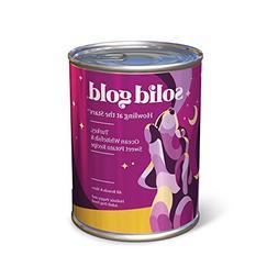 canned dog food case turkey