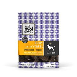 I and Love and You CHICKEN DUCK Dog Treats Grain Free Exp 07