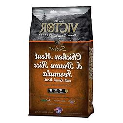 VICTOR Chicken Meal and Brown Rice Formula Dry Dog Food, 40