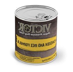 "Victor Chicken & RiceFormula ""Pate"" Dog Food -Canned"