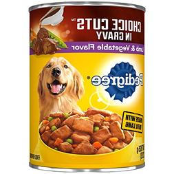 Pedigree CHOICE CUTS in Gravy Lamb and Vegetable Flavor Adul