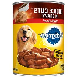 Pedigree Choice Cuts In Gravy With Beef Adult Canned Wet Dog
