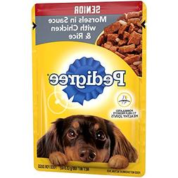 Pedigree Choice CUTS Senior Morsels in Sauce with Chicken an