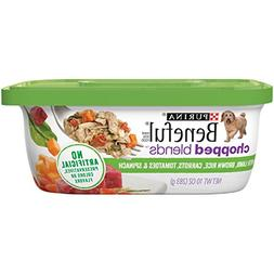 Purina Beneful Chopped Blends with Lamb Brown Rice Carrots T