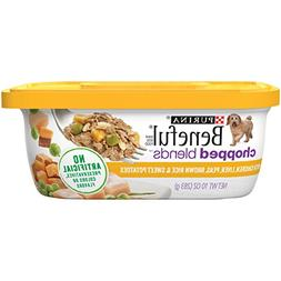 Purina Beneful Chopped Blends With Chicken, Liver, Peas, Bro