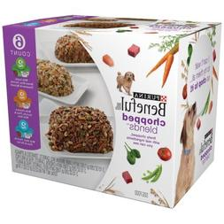 Purina Beneful Chopped Blends Variety Pack Dog Food 6-10 oz.