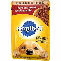 Pedigree Chopped Ground Dinner Adult Wet Dog Food, 3.5 oz. P