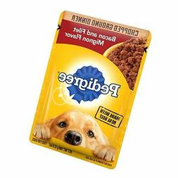 Pedigree Chopped Ground Dinner Adult Wet Dog Food Pouches St
