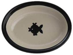 Petrageous Designs City Pets 6.25 Oval Dish, Fish