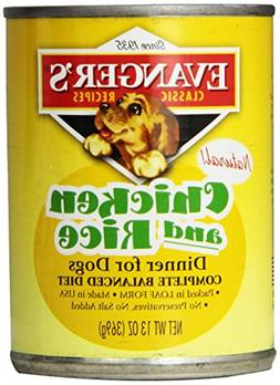 Evanger'S Classic Chicken And Rice Dinner For Dogs, 12 Pack,