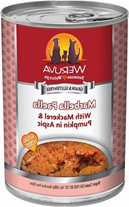Weruva Classic Dog Food, Marbella Paella with Mackerel & Pum