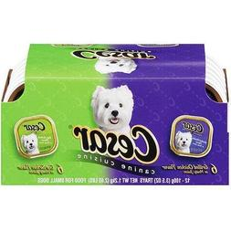 Cesar Classics Variety Pack, includes 6 Top Sirloin Beef and