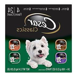 CESAR Classics Adult Wet Dog Food Variety Pack - Poultry 3.5