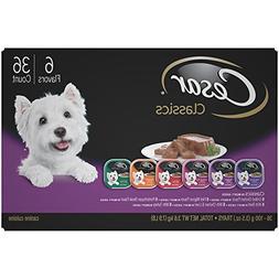 CESAR Classics Adult Wet Dog Food Variety Pack Trays 3.5 Oun