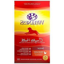 Wellness Complete Health Natural Senior Health Recipe Dry Do