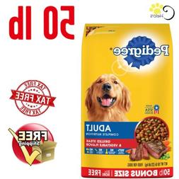 PEDIGREE Complete Nutrition Adult Dry Dog Food Steak Vegetab