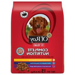 Ol' Roy Complete Nutrition Dog Food, Adult, 15 lb