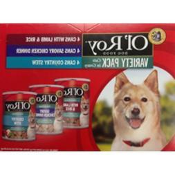 Ol' Roy Cuts in Gravy Variety Pack Wet Dog Food, 13.2 Oz, 12
