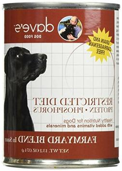 daves pet food dog food restricted bland