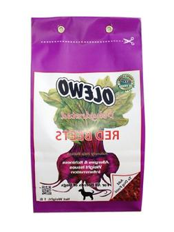 Olewo Dehydrated Red Beets for Dogs Help Dog Skin Allergies/