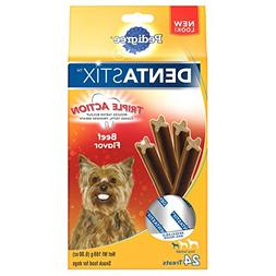Pedigree DENTASTIX Beef Flavor Toy/Small Treats for Dogs - 6