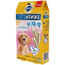 """Pedigree Dentastix """"Puppy"""" Chicken Flavor 21 Treats"""
