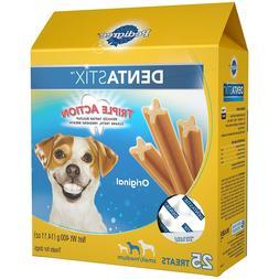 Pedigree DENTASTIX Small/Medium Dental Dog Treats Original,