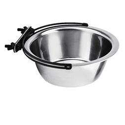 HungMeo Dog Bowls, Stainless Steel Coop Cups Hanging Water F