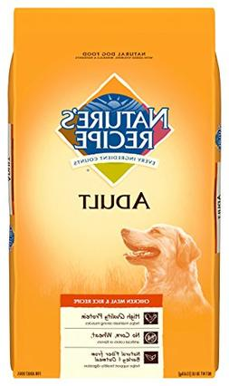 Nature' Recipe® Adult Dog Food - Natural, Chicken Meal a